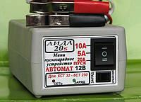 Зарядное устройство для гелевых/кислотных авто аккумуляторов «АИДА-20S»: 12В АКБ 32-250А*час.