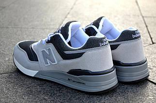 Кроссовки New Balance серые, мужские, фото 2