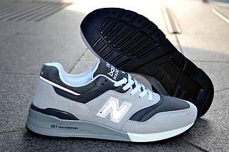 Кроссовки New Balance серые, мужские, фото 3