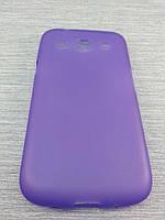 Чехол TPU  для Samsung Galaxy Core i8262 i8260 фиолетовый