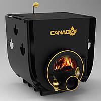 БУЛЕРЬЯН «CANADA» С ВАРОЧНОЙ ПОВЕРХНОСТЬЮ «00»+панорамное стекло ROBAX+защитный перфорированный кожух