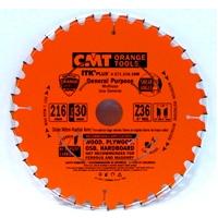 Пильный диск для продольного и поперечного пиления СМТ 271.216.36M (216x30x36Z)