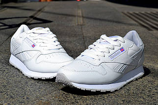 Reebook Classic Full White Leather, Вьетнам, фото 2