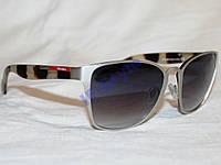 Очки PRADA J58225 MA376 Платина Черный КАЧЕСТВО