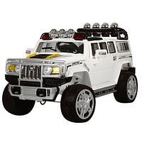 Детский джип  Hummer JJ 255 EBR-1 белый