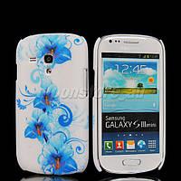 Пластиковый чехол Samsung Galaxy S3 Mini i8190, E8