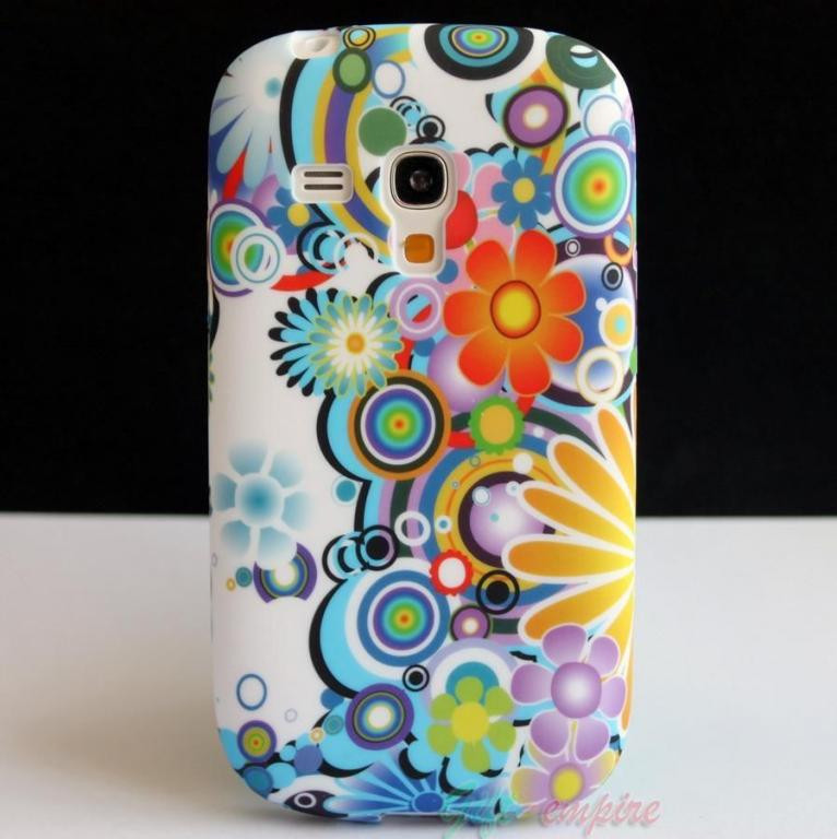 Пластиковый чехол Samsung Galaxy S3 Mini i8190 E16