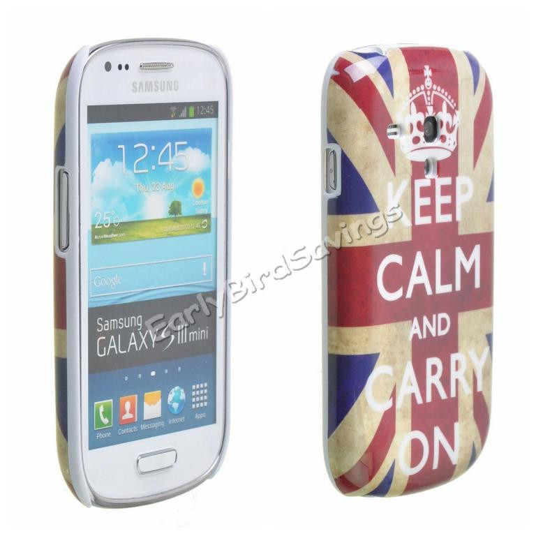 Пластиковый чехол Samsung Galaxy S3 Mini i8190, E7