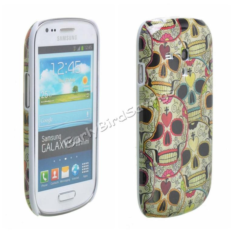 Пластиковый чехол Samsung Galaxy S3 Mini i8190 E29