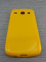Чехол TPU  для Samsung Galaxy Core i8262 i8260 желтый