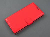 Чехол книжка для Lenovo K920 Vibe Z2 Pro красный