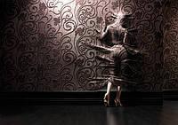 Художественная отделка стен тканью