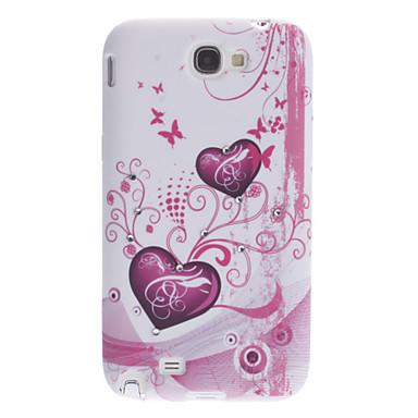 Пластиковый чехол Samsung Galaxy Note 2 N7100, E10