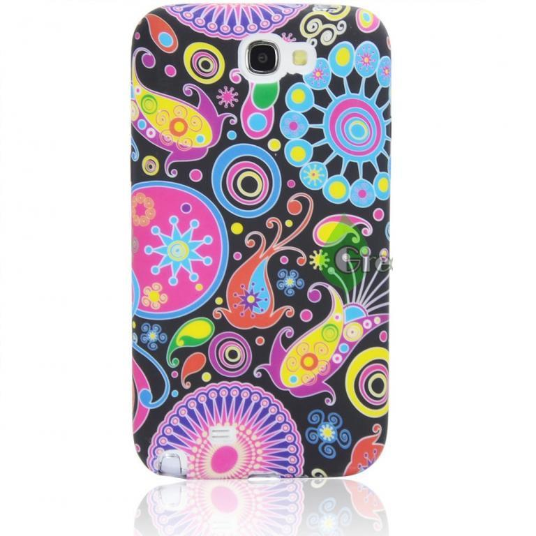 Пластиковый чехол Samsung Galaxy Note 2 N7100, E15