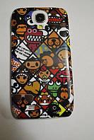 Пластиковый чехол Samsung S4 Mini i9190 i9192, E34