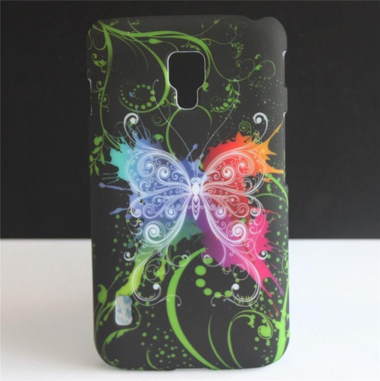 Пластиковый чехол Samsung Galaxy S4 i9500, E13