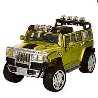 Детский джип  Hummer JJ 255 EBR-10 зеленый