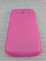 Чехол TPU  для Samsung Galaxy Core i8262 i8260 розовый