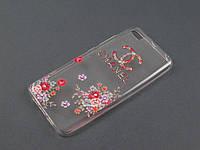 Чехол Lucent для Xiaomi Mi5 Mi5s принт Шанэль Chanel