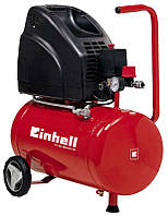 Компрессор воздушный Einhell Home 1100 Вт, 140 л/мин, 24 л, безмасляный Арт.(4020515)