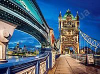 """Пазлы на 2000эл.№200597""""Тауэрский мост в Лондоне""""92х68см."""