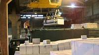 Погрузка купянского газобетона на заводе видео
