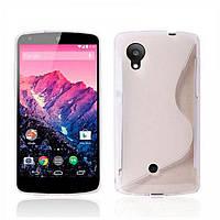 Силиконовый чехол LG Google Nexus 5 E980, L60
