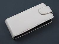 Чехол флип для HTC One V T320e белый