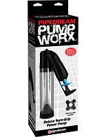 Мужская вакуумная помпа для члена Deluxe Sure-Grip Power Pump, фото 1