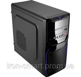 Корпус Aerocool PGS QS 183 Blue, 550W, 120 mm, 20+4pin, Mini ITX, USB3.0 x 2, 2x3.5mm, 5.25 x 1, 3.5 x 2, 2.5 x 1, 170x355x335