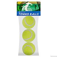 Мяч для большого тенниса №467,в пакете 3шт.,30х13х6см.