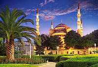 """Пазлы на 1000эл.№103386""""Голубая мечеть, Турция""""68х47см."""