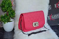 "Восхитительная розовая сумка ""Chanel mini""."