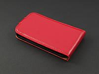 Чехол флип  для Samsung Galaxy Ace 2 I8160 красный