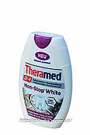 Зубна паста Theramed 2in1 Non-Stop White 75ml фіолетова