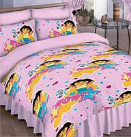 Комплект детского постельного белья подростковый Даша следопыт