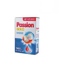 Стиральный порошок Passion Gold White для белого 980г (картон)