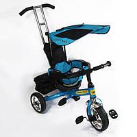Велосипед детский трехколесный TILLY Combi Trike Blue