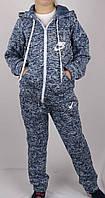 Костюм спортивный теплый на байке, код-501, ткань трикотаж с флисом,размер  рост 122-140, возраст 6-10 лет, фото 1