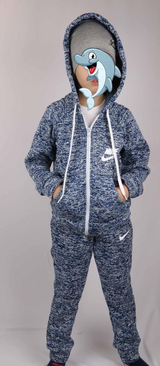 Костюм спортивный теплый на байке, код-501, ткань трикотаж,размер  рост 122-140, возраст 6-10 лет, фото 3