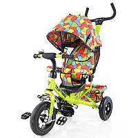 Велосипед трехколесный TILLY Trike  с надувными колесами Light green