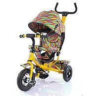 Велосипед трехколесный TILLY Trike  с надувными колесами Yellow