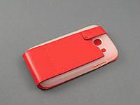 Чехол Illusion для Samsung Galaxy Core i8262 i8260 красный