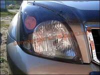 Защита фар Sim для Toyota Land Cruiser Prado 2002-09 карбон