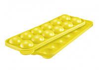 Форма силиконовая для кондитерских изделий на палочке желтая WESTMARK W3024226Y