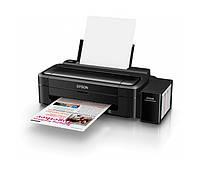 Принтер струйный цветной A4 Epson L132 (C11CE58403), Black, 5760х1440 dpi, до 27/15 стр/мин, USB, встроенное СНПЧ по 70 мл (чернила L100)