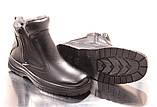 Мужские зимние ботинки. Иск. кожа, фото 2