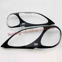 Защита фар Sim для Toyota Land Cruiser Prado 2002-09 очки