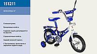 """Велосипед 2-х колес 12 """" 151211 со звонком, зеркаломми в колесах"""