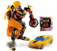 Трансформер Бамблби машинка Shide Robot 4 арт.2966-16 AS